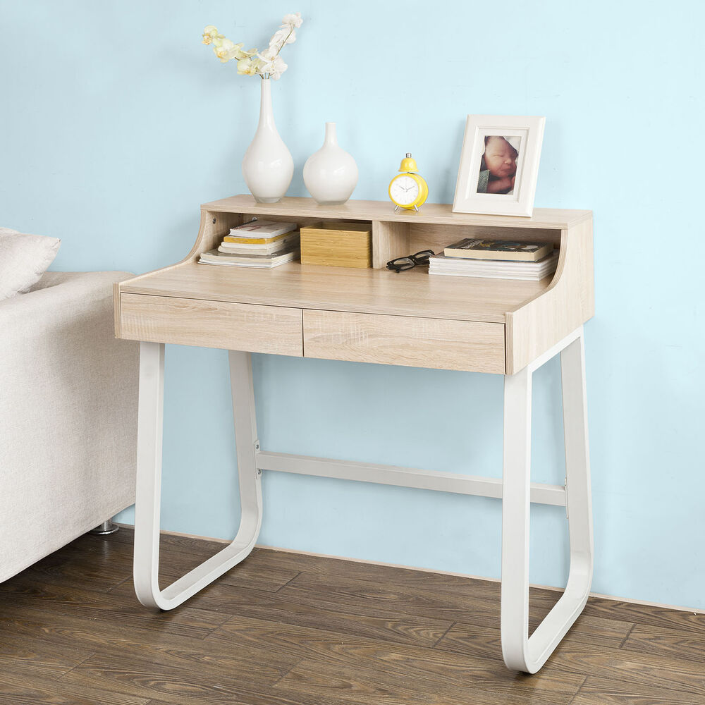SoBuy® Home Office Table Computer Desk With Shelves