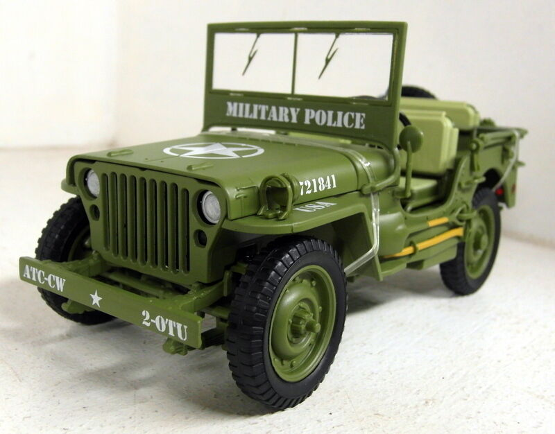 triple9 1 18 scale 1941 willys jeep military police us. Black Bedroom Furniture Sets. Home Design Ideas