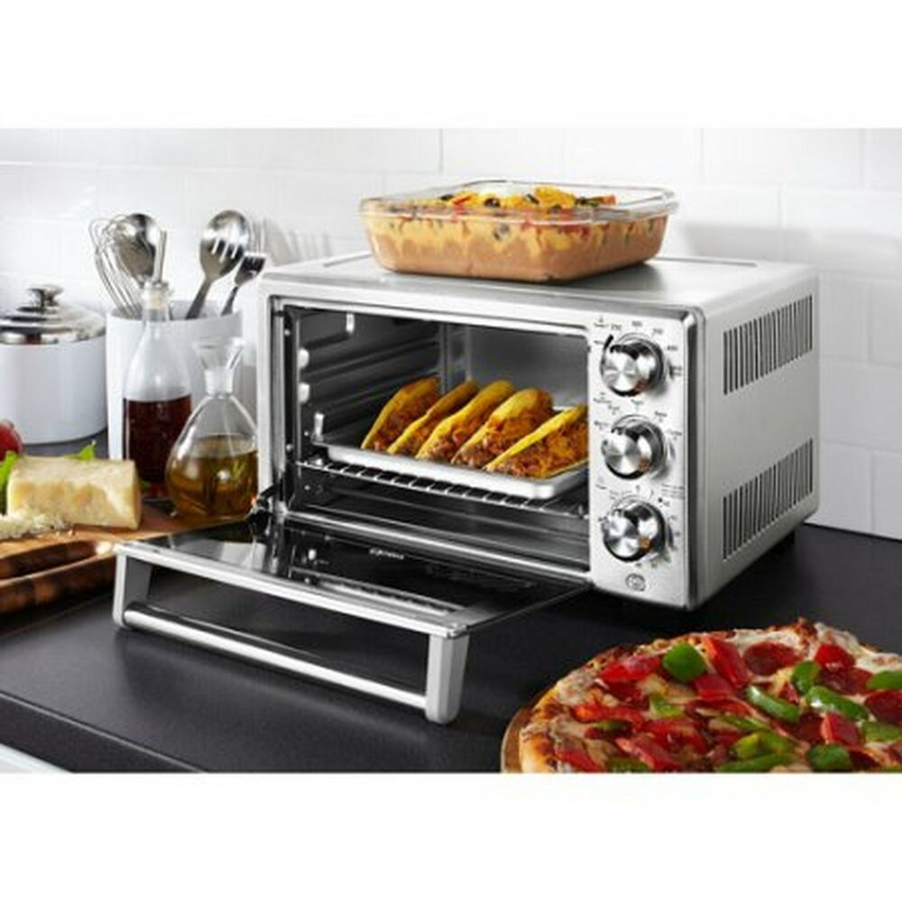 Convection Countertop Oven Stainless Steel : ... Life Convection Toaster Oven Countertop Stainless Steel Bake eBay