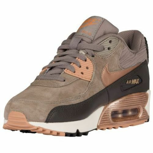 a1749399a57 ... NEW Womens Nike Air Max 90 BronzeGold Metallic Red 76887-201 DS eBay ...