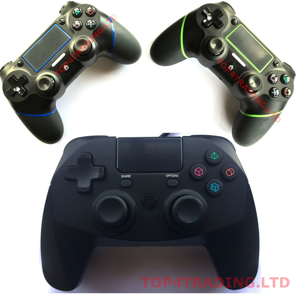 Game Controllers For Ps4 : Wired or wireless controller for sony playstation ps