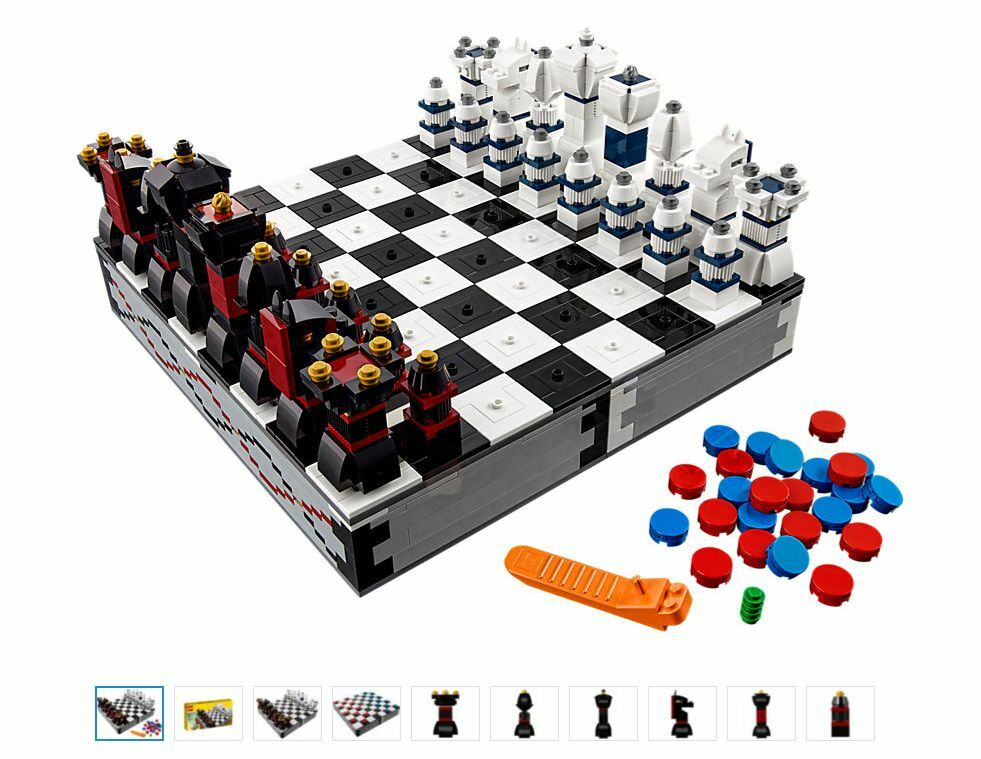 new lego 40174 iconic chess checkers ebay. Black Bedroom Furniture Sets. Home Design Ideas