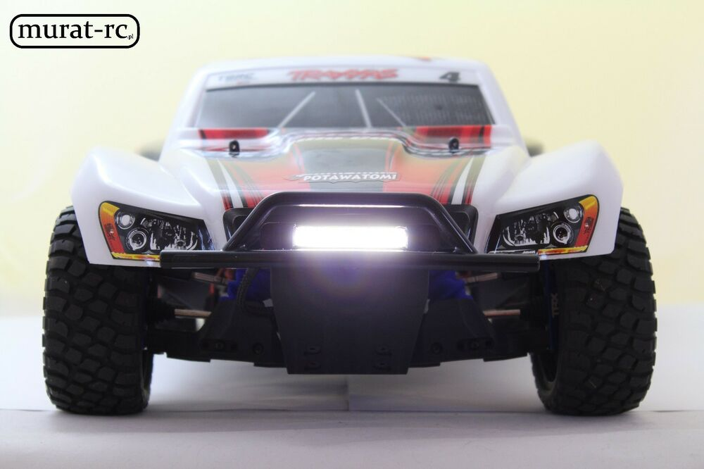 Unique LED Light Bar For RPM Bumper Traxxas Slash 1 10 4x4 2WD waterproof by murat rc Top Design - Amazing best led light bar for the money Lovely