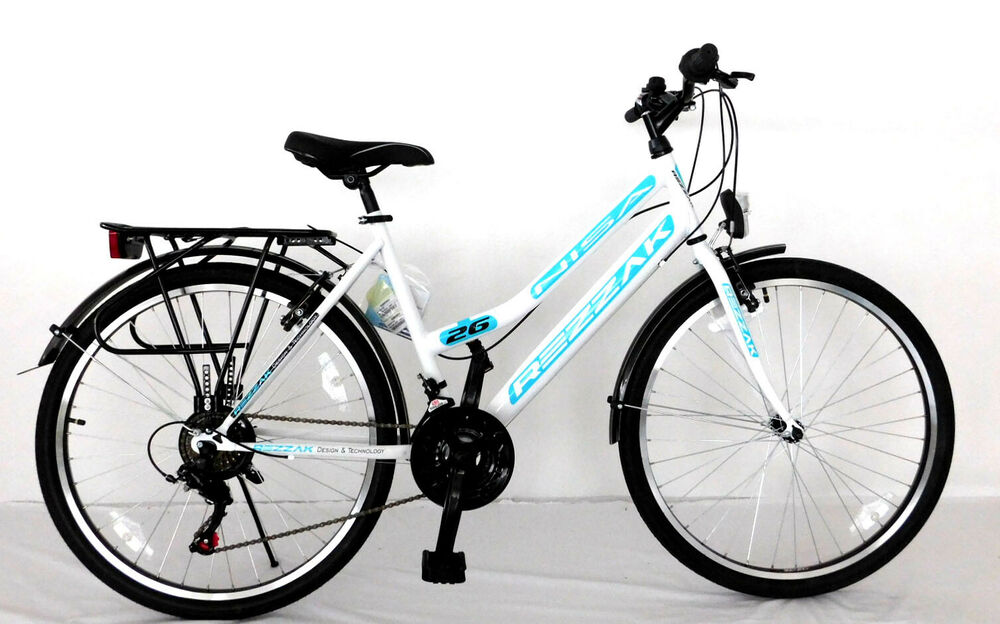 24 zoll kinderfahrrad m dchenfahrrad 24 damen cityfahrrad city bike weiss t rkis ebay. Black Bedroom Furniture Sets. Home Design Ideas