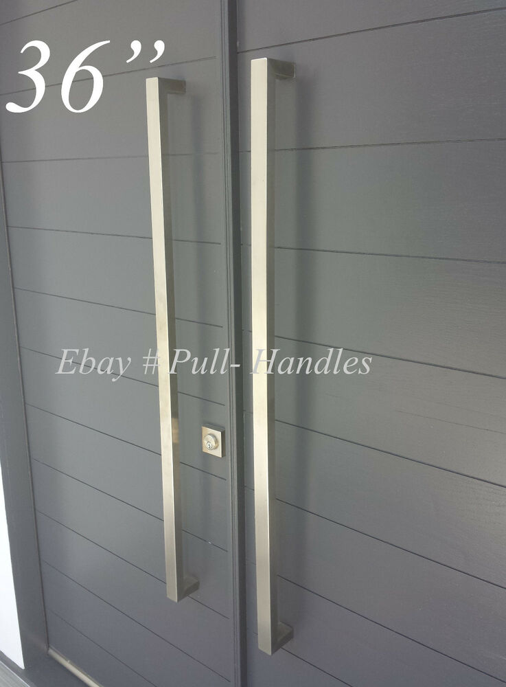 36 Quot Door Hardware Pull Handles Bar Pulls Entry Store Front