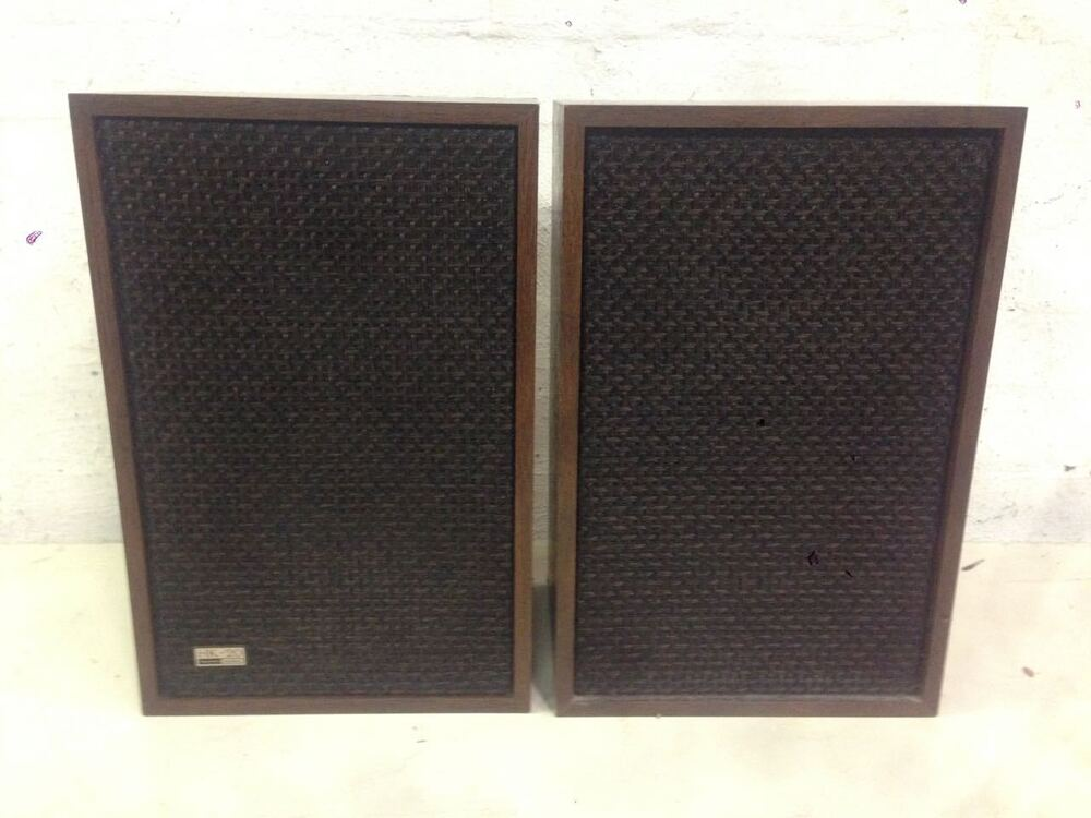 vintage harman kardon hk 20 stereo speakers high end ebay