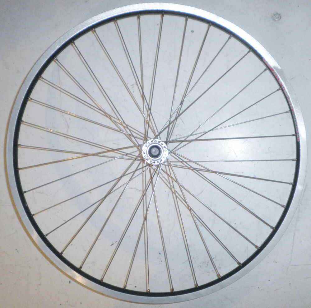 Schwinn machined alloy 26 front aluminum bike bicycle rim for Bicycle rims