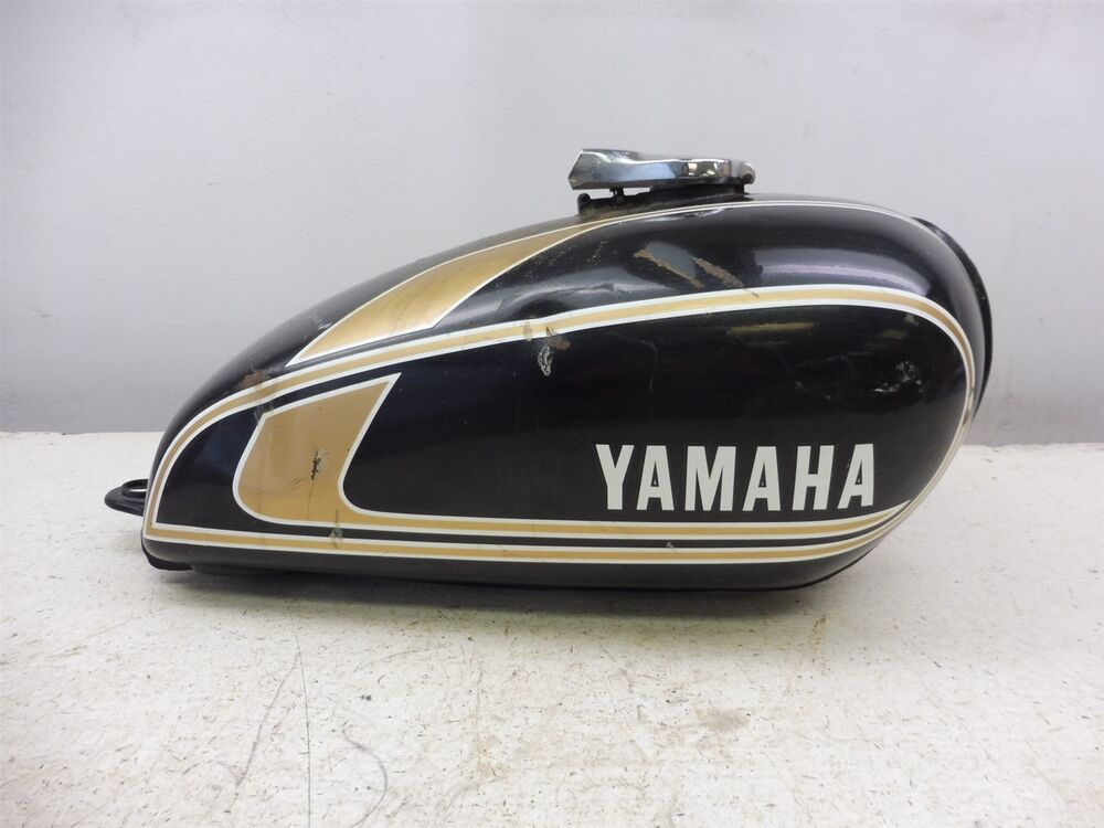 1975 yamaha xs650 xs 650 y366 1 39 gas fuel petrol tank cell. Black Bedroom Furniture Sets. Home Design Ideas