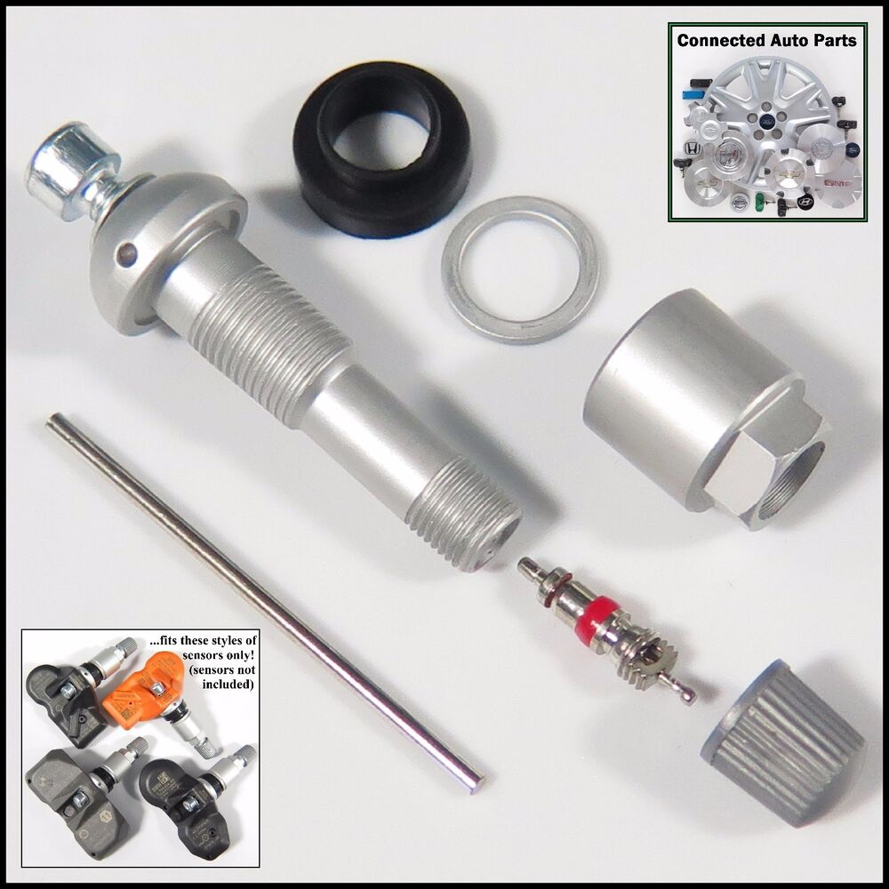 BMW Mini VALVE STEM TIRE SENSOR TPMS SERVICE REBUILD KIT