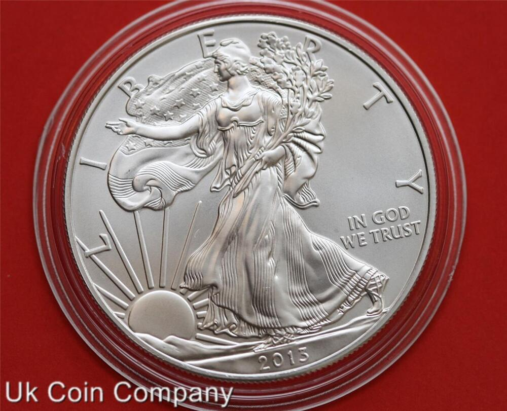 2013 American Eagle Liberty 1oz Fine Silver 1 One Dollar
