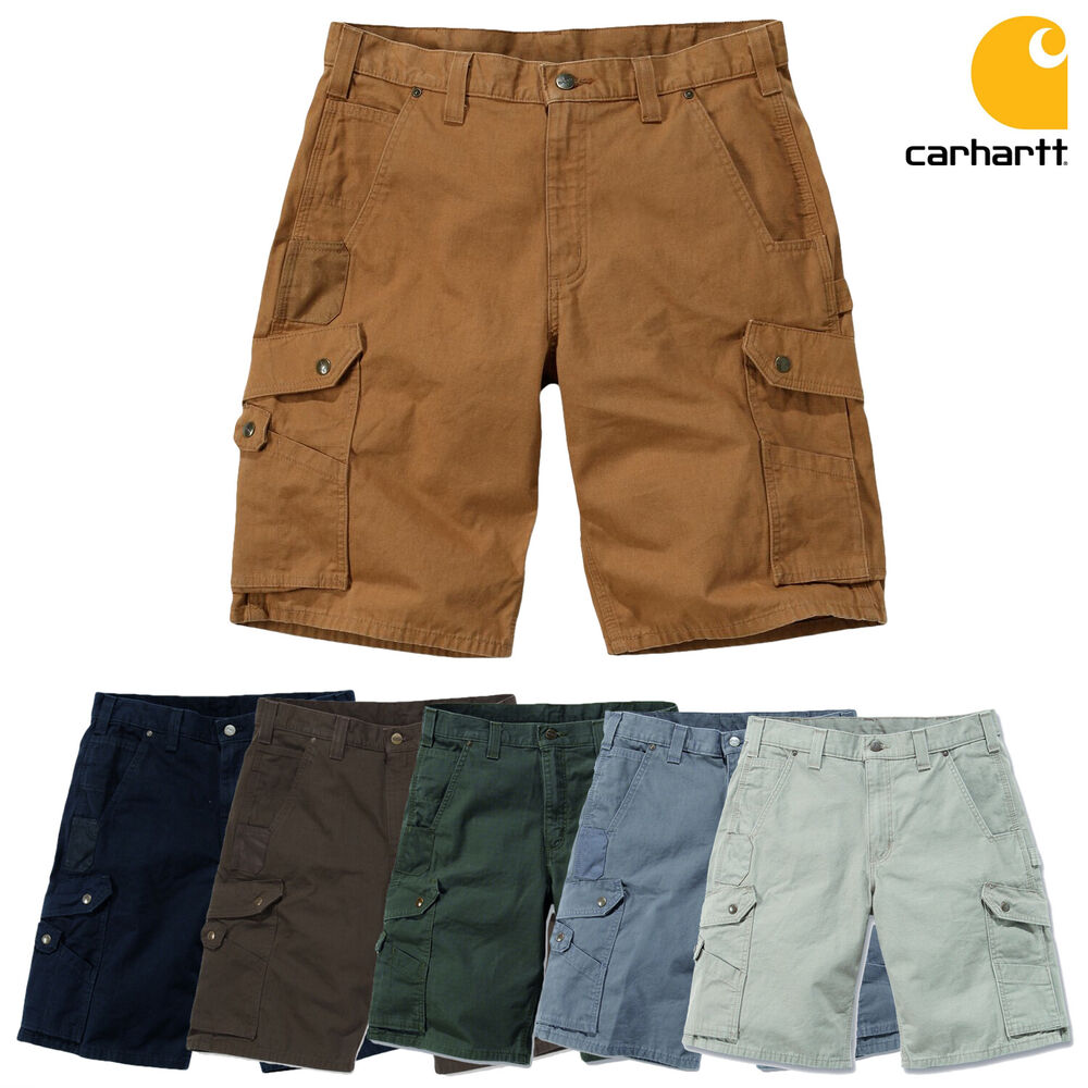 carhartt short cargo ripstop work kurze hose m nner arbeitshose neu ebay. Black Bedroom Furniture Sets. Home Design Ideas