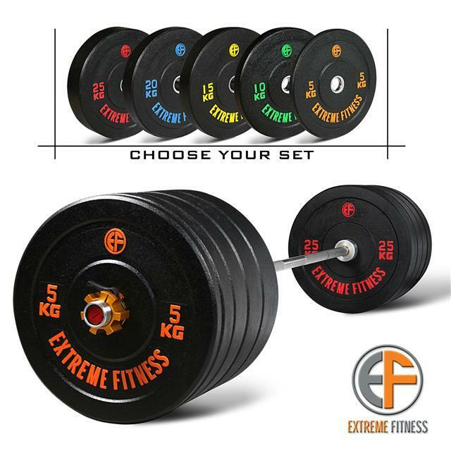Extreme Fitness 174 Hi Temp Rubber Bumper Weight Plates