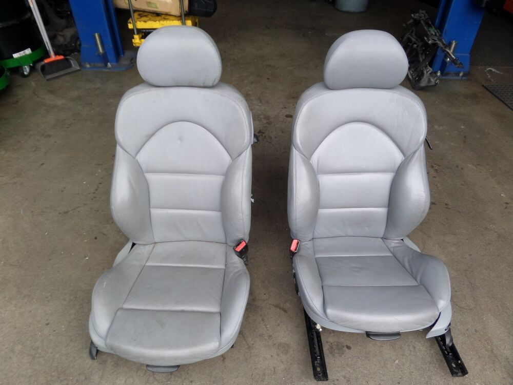 Bmw Seats Replacement : Bmw e m front lumbar powered seat dove grey can ship