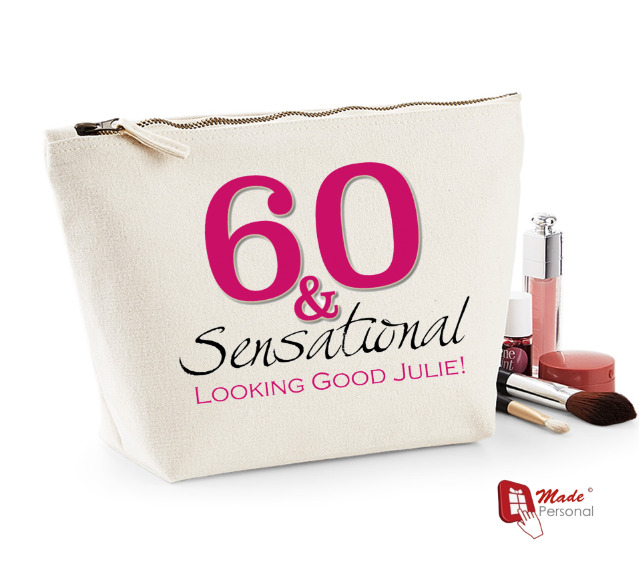 Details About Personalised Make Up Wash Bag