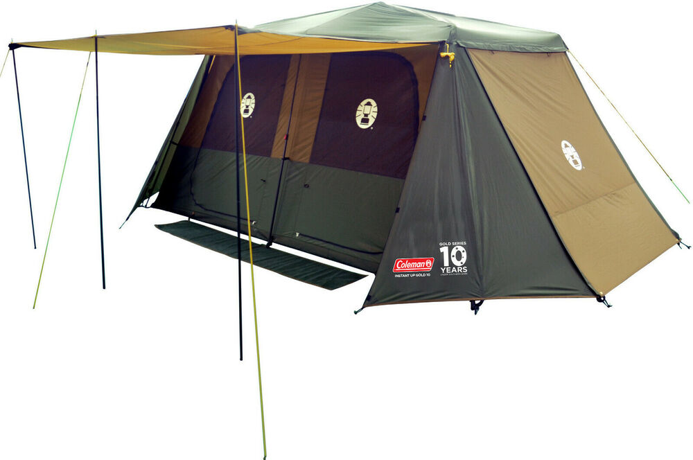Coleman Instant Up 10 Tent Gold Series Ebay