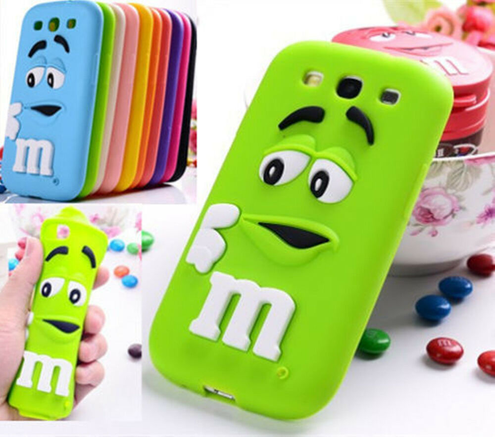 New hot 2017 3d lovely chocolate soft silicon case cover for 3d decoration for phone cases