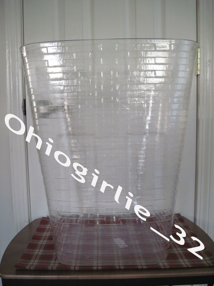 Longaberger Extra Small Foyer Basket : Plastic protector only for longaberger extra large oval