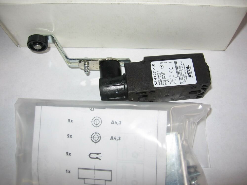 Rittal Sz 4127 210 Door Operated Switch With Mounting