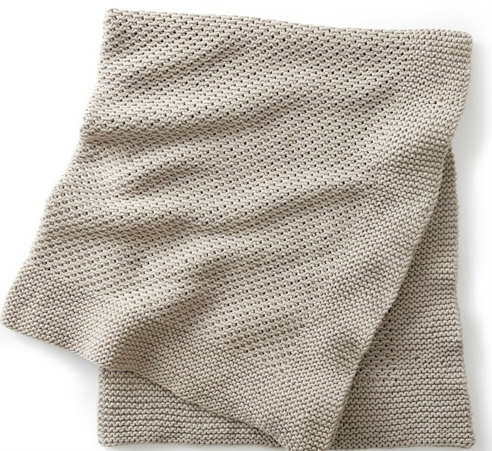 KNITTING PATTERN - EASY KNIT QUIET TIMES BLANKET/AFGHAN/THROW IN CHUNKY YARN ...