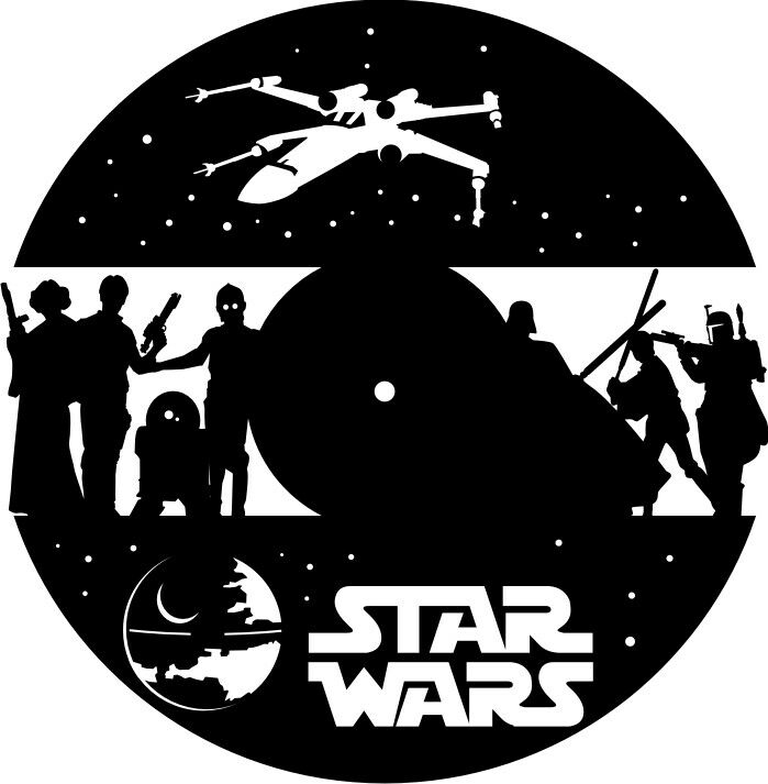 Dxf Cdr And Eps File For Cnc Plasma Or Laser Cut Star