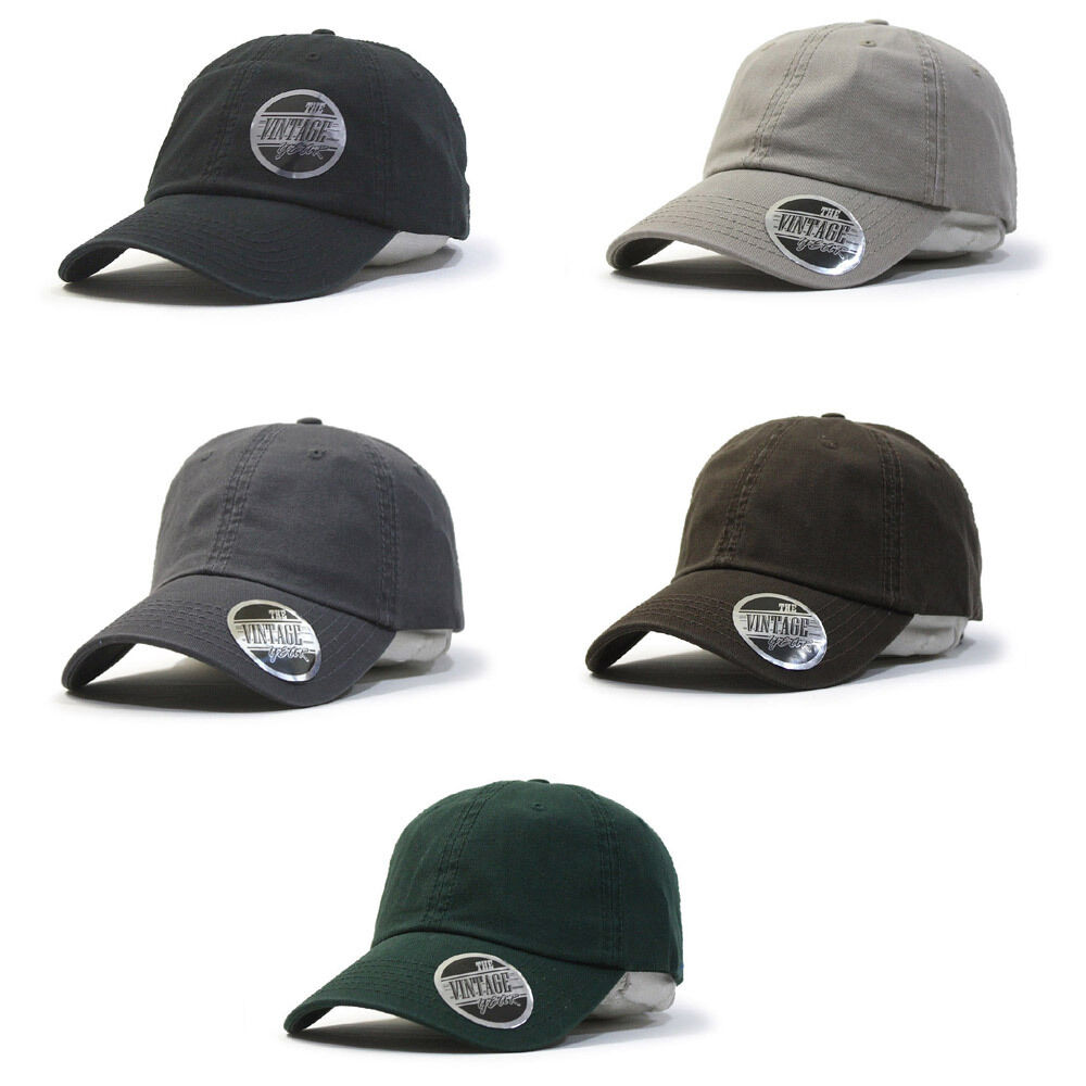 Details about Plain Classic Washed Cotton Twill Low Profile Adjustable  Baseball Cap aa76cebb2385