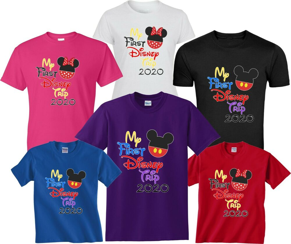 2018 DISNEY FAMILY VACATION My First Trip T-SHIRTS ALL