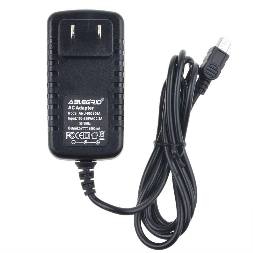generic wall power charger adapter for garmin gps nuvi 2589 lm t 2599 lm t psu ebay. Black Bedroom Furniture Sets. Home Design Ideas