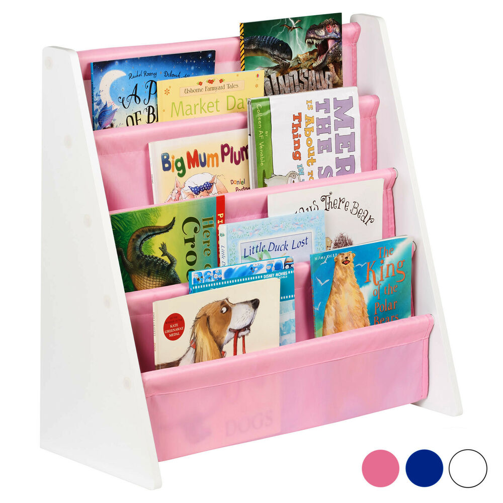 Childrens Jumbo Bedroom Room Tidy Toy Storage Chest Box Trunk: Hartleys Childrens Book Shelf Kids Bedroom/Play Room