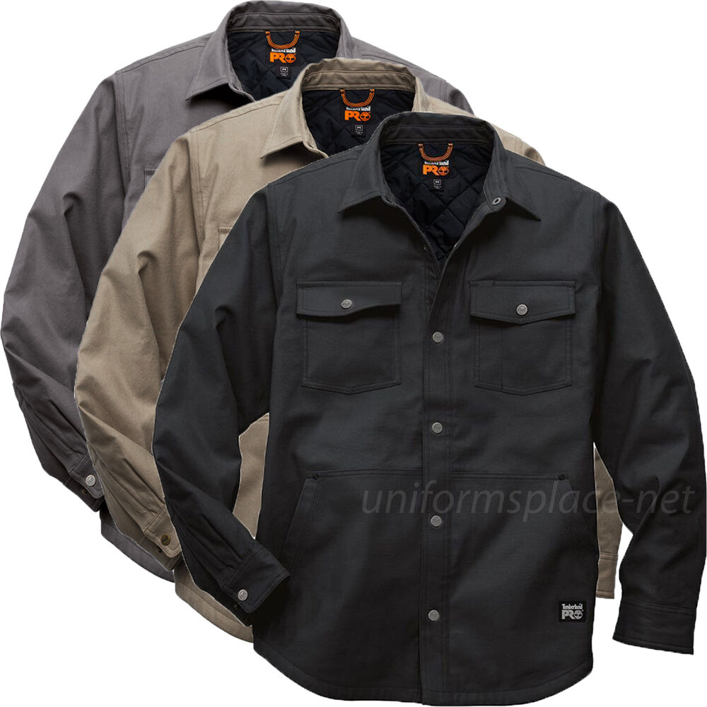 Quilted Shirt Jacket Mens