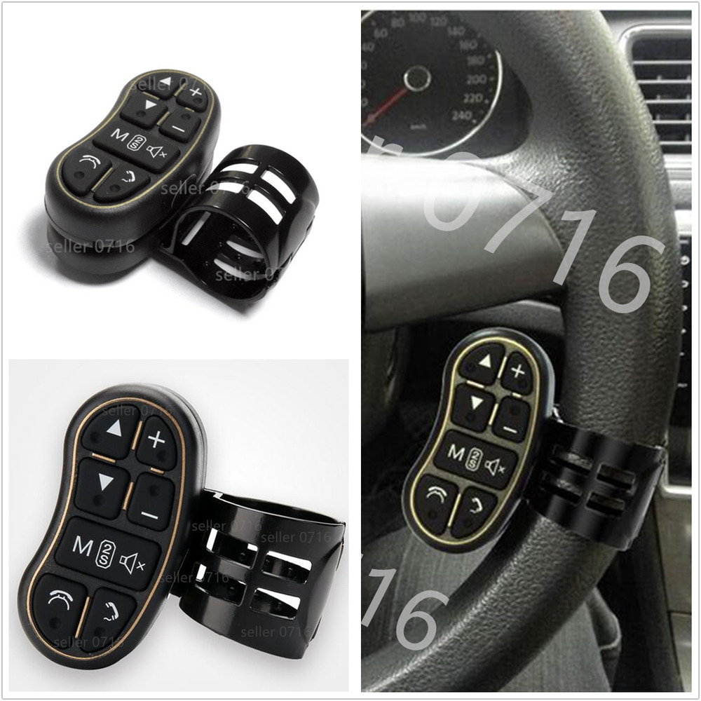 car steering wheel key button remote control for car dvd. Black Bedroom Furniture Sets. Home Design Ideas