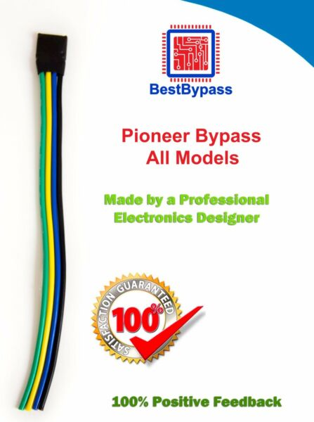 BestBypass VIDEO BYPASS, PARKING BRAKE BYPASS Triple Pulse  Fits all Pioneer AVH