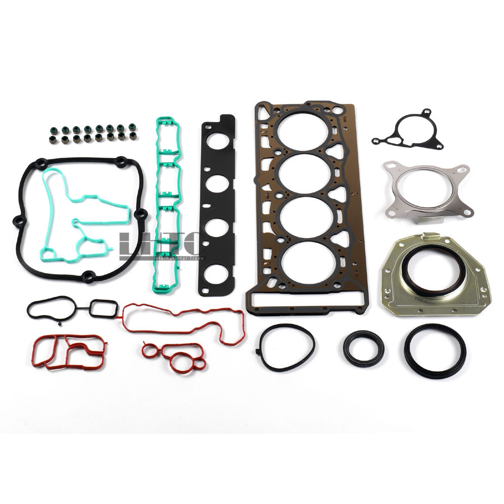 Cylinder Head Gasket 2 Per Engine 07v103147: Repair Kit Engine Cylinder Head Gasket For VW GTI Audi A4