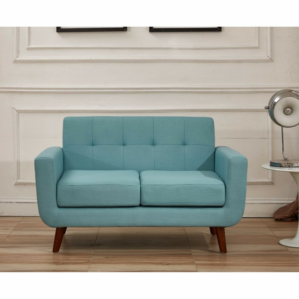 Modern Sofa Loveseat Tufted Armchair Seating Couch Living