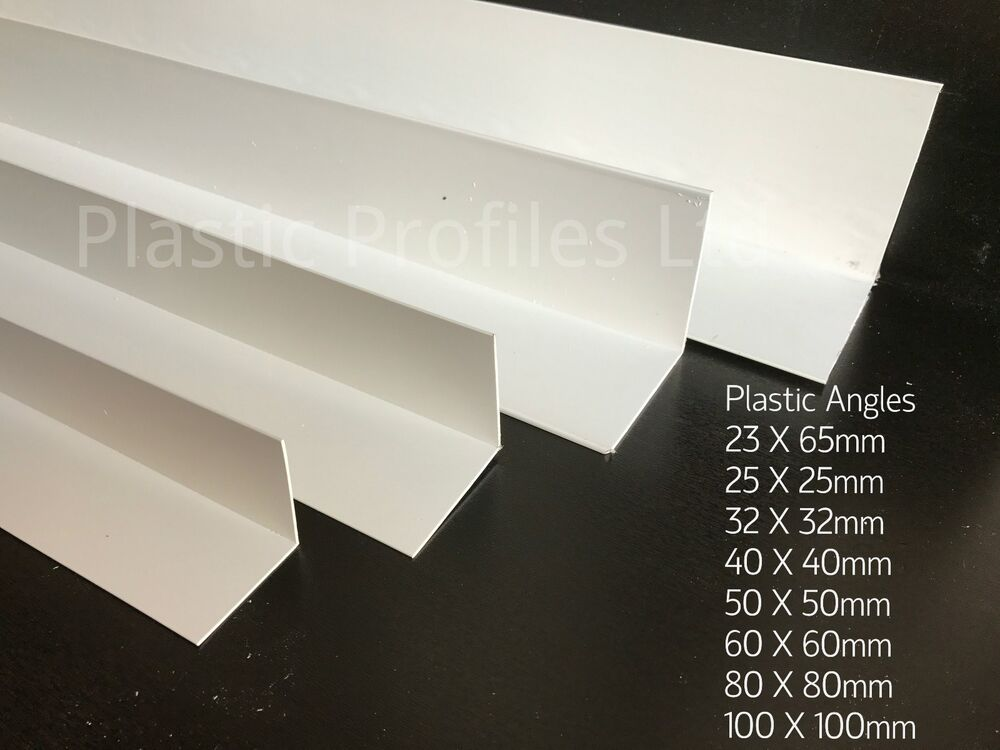 White Plastic Upvc Pvc Corner 90 176 Degree Angle Trim