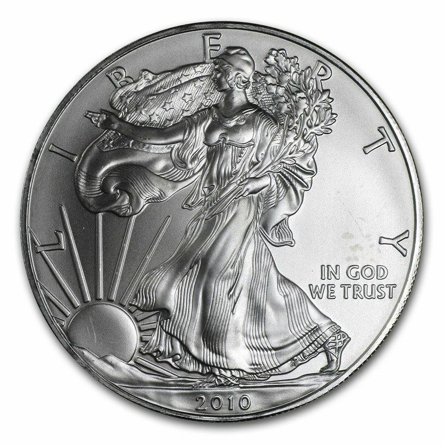 2010 American Silver Eagle 1 Oz Silver Coin Direct From