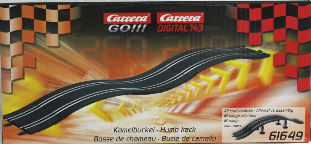 carrera go 61649 hump bridge track new 1 43 slot car. Black Bedroom Furniture Sets. Home Design Ideas