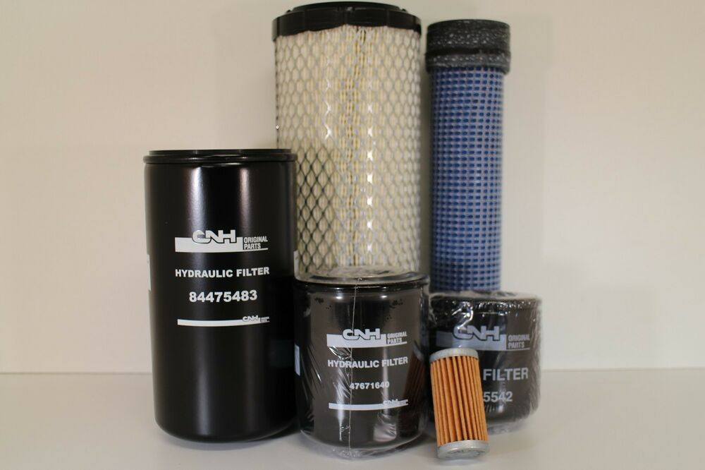 Replacement Air Filter For Tractors : Oem filter kit for new holland tc d da