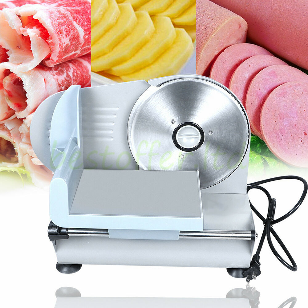 Commercial Stainless Steel Electric Deli Meat Cutter Cheese Food ...