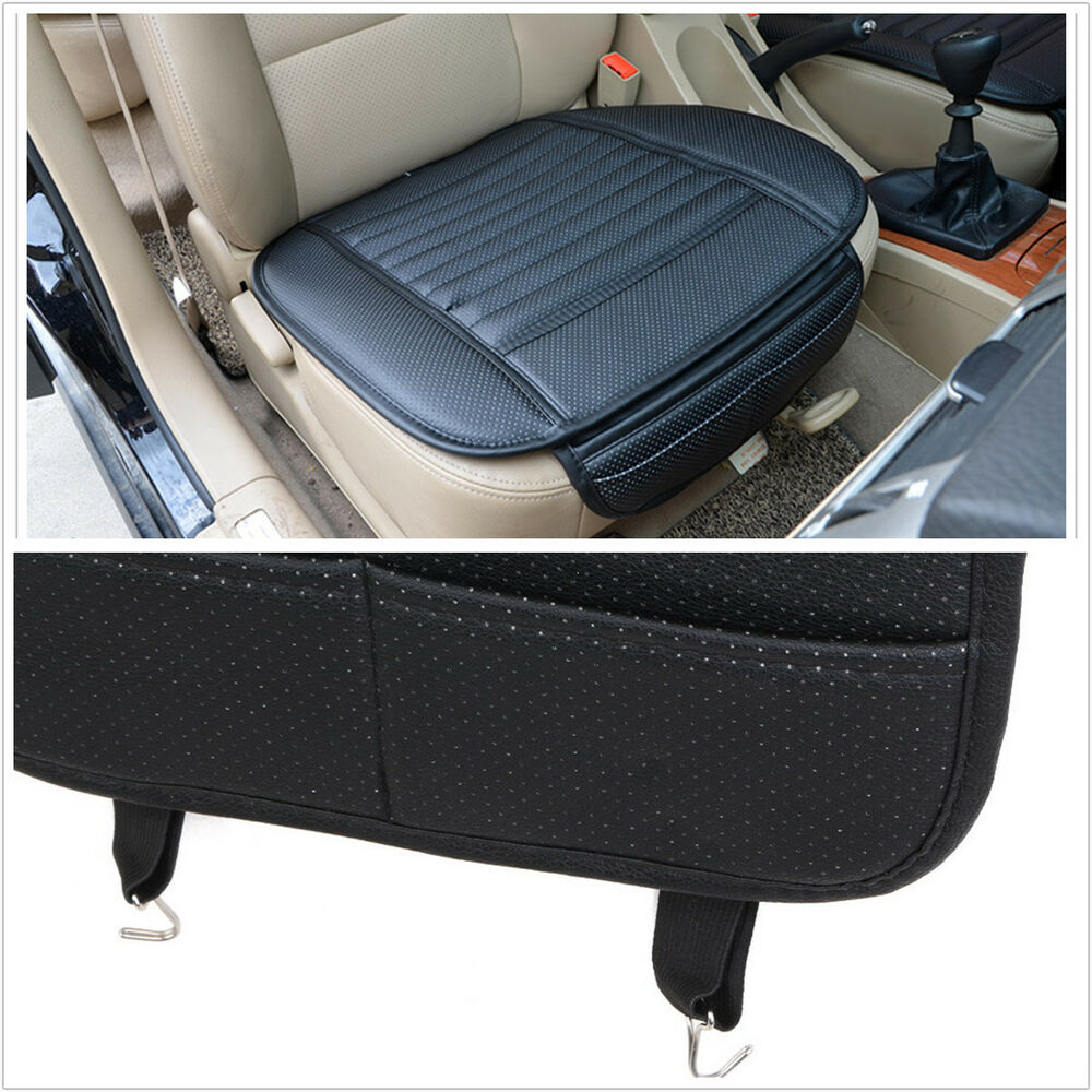 Breathable Pu Bamboo Charcoal Car Seat Cover Pad Mat For