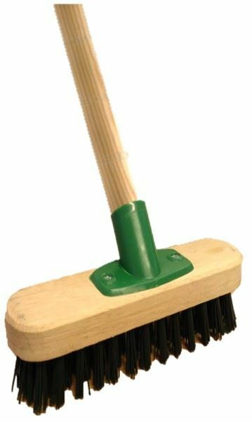 Heavy Duty Stiff Floor Scrubbing Deck Scrub Brush Yard