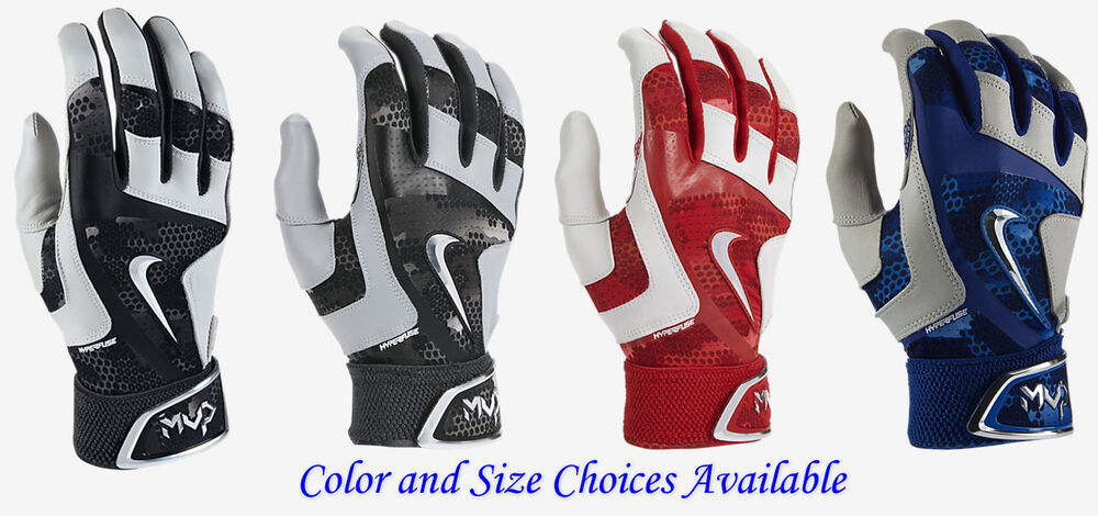 f447bf8793b1 Details about Nike MVP Elite Pro 2.0 Adult Baseball Batting Gloves  -Color Size Choices