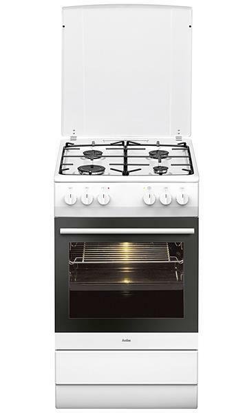 gaz cuisini re lectrique gaz naturel le propane amica sheg 11557 w blanc ebay. Black Bedroom Furniture Sets. Home Design Ideas