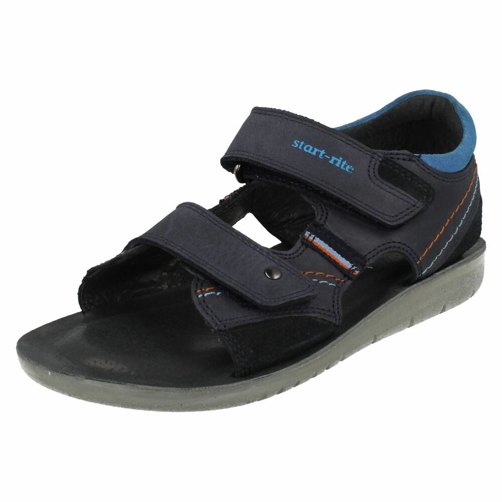 3957752e09a042 Startrite Boys Leather Sandals  SRSoft Caleb