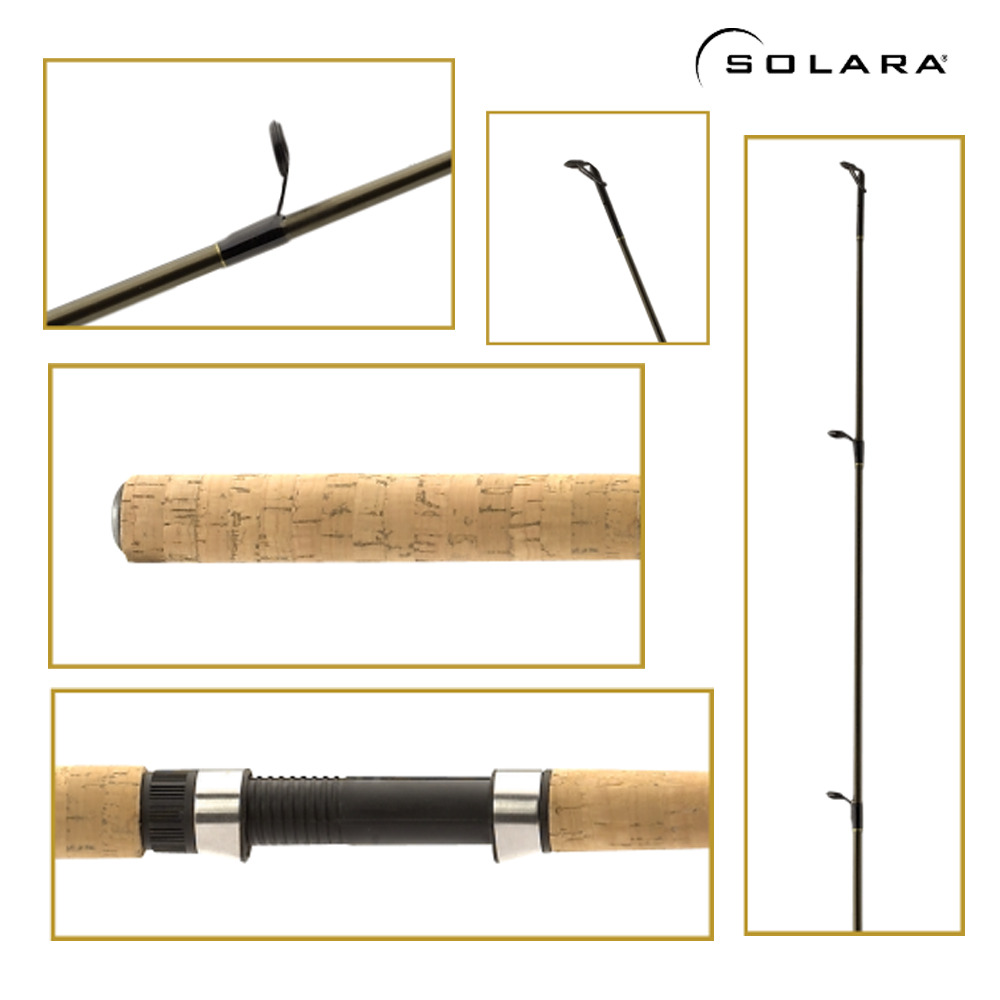 Shimano Solara 2 Piece Spinning Rod 6 Feet 6 Inch Medium