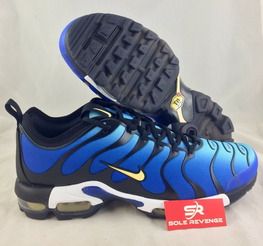 nike air max plus tn ultra tuned hyper blue chamois black. Black Bedroom Furniture Sets. Home Design Ideas