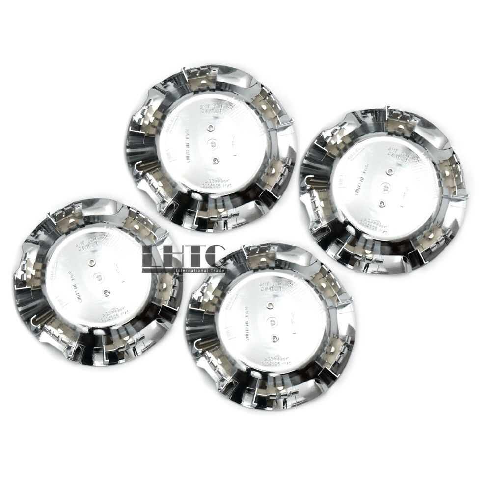 4pcs 7 1 8 Wheel Center Caps Covers Chrome For Chevy