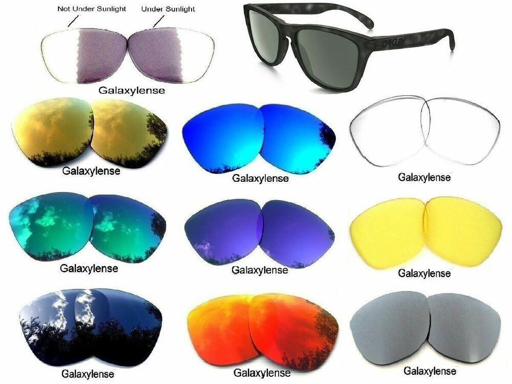 Oakley Fuel Cell Polarized >> Galaxy Replacement Lenses For Oakley Frogskins Sunglasses Multi-Color Polarized | eBay