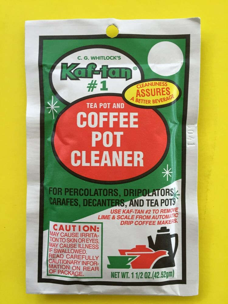 coffee pot cleaner kaf 1 tea pot amp coffee pot cleaner perculators 12891