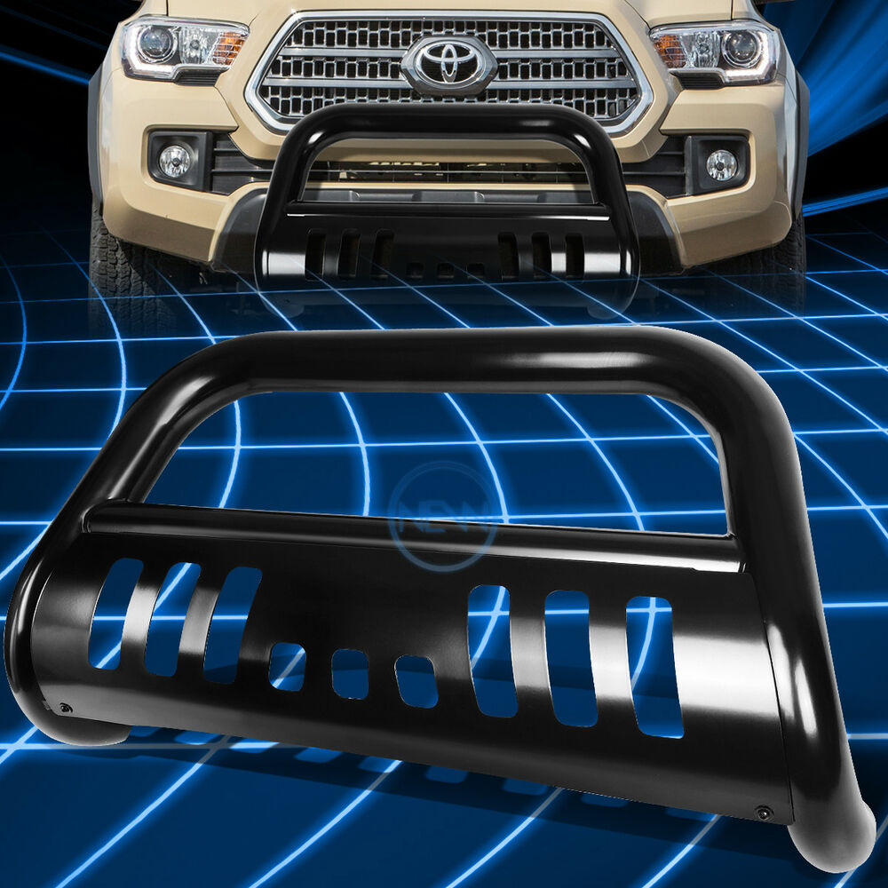 Black Ss Front Bumper Bull Bar Grille Guard For 2016 2017