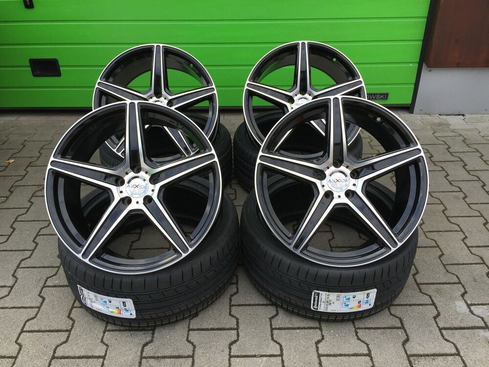 19 zoll felgen 5x112 axxion ax7 f r mercedes c63 amg w204. Black Bedroom Furniture Sets. Home Design Ideas